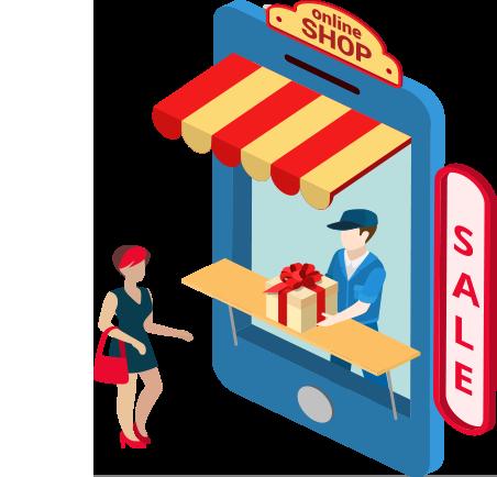 店易加门店微商城管理系统自提模块示例图